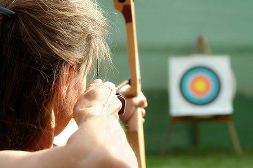 case study headline archery bullseye