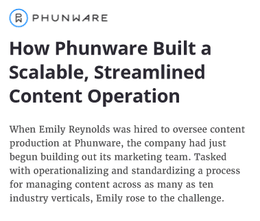 Phunware makes their customer the hero in this case study example