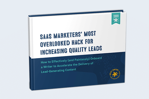 SaaS Marketers' Most Overlooked Hack for Increasing Quality Leads