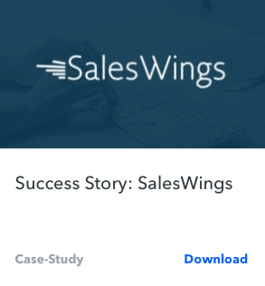 SalesWing Case Study Headline Example