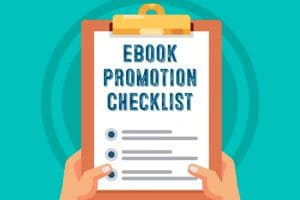 Checklist to help you promote your SaaS ebooks